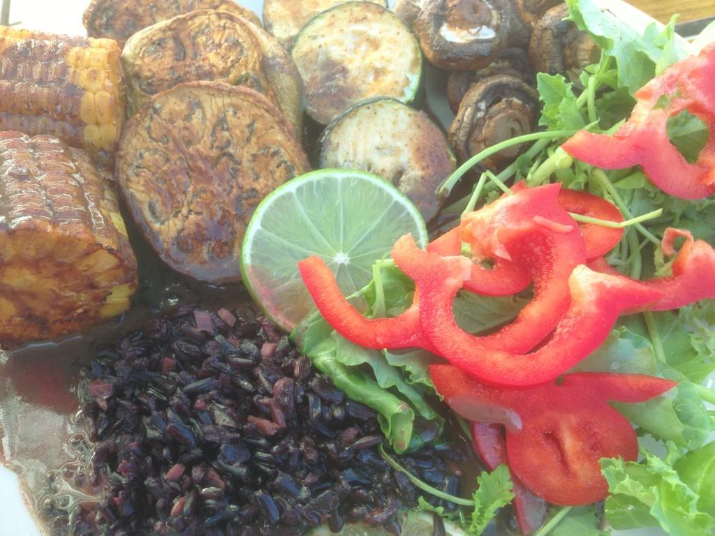 Stekte grønnsaker med kokosris (5)
